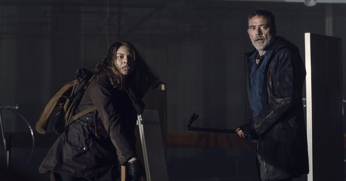 The Walking Dead Maggie Negan Reapers 1103 Hunted