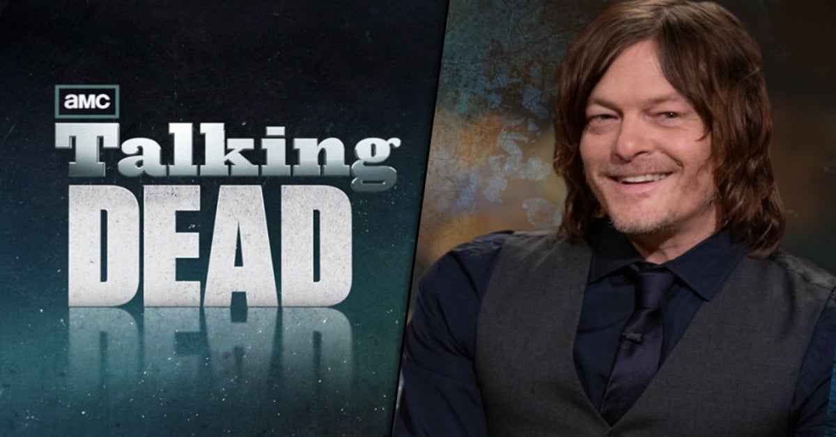 The Walking Dead Norman Reedus Talking Dead comicbookcom