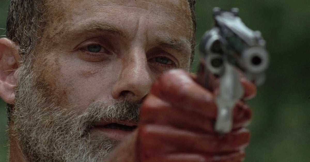 The Walking Dead Rick Grimes Andrew Lincoln final episode