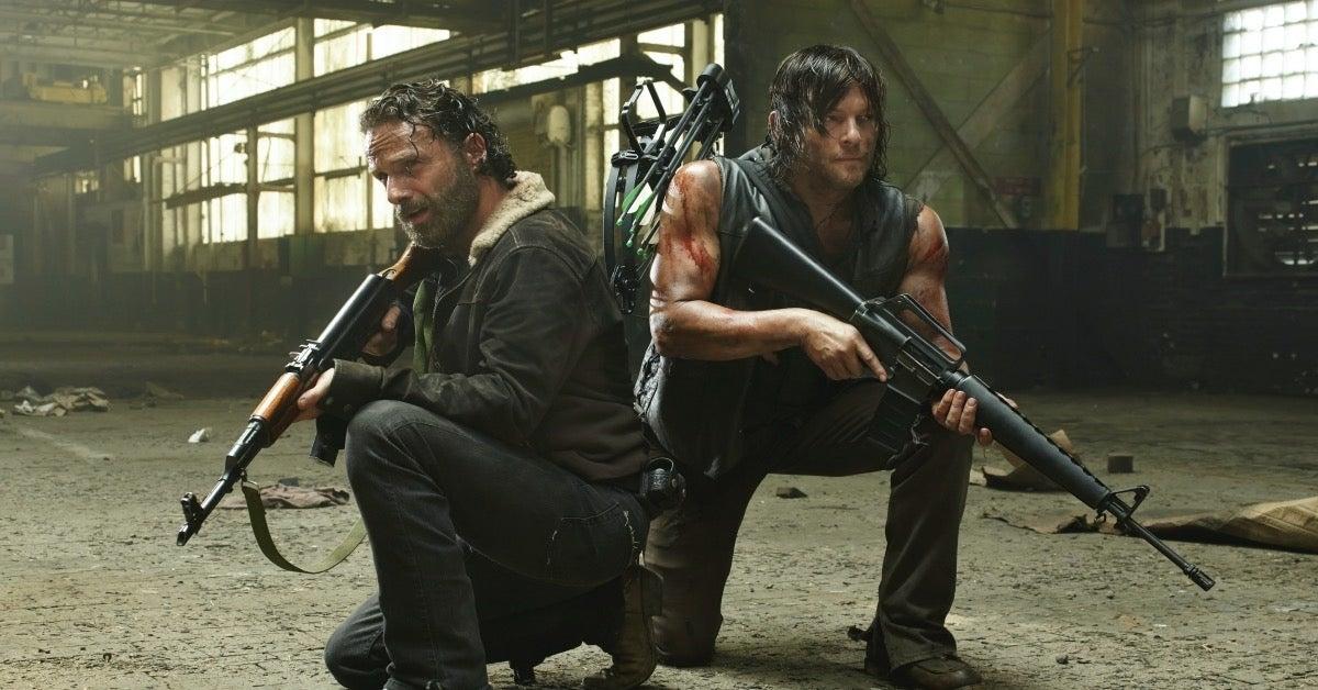 The Walking Dead Rick Grimes Daryl Norman Reedus