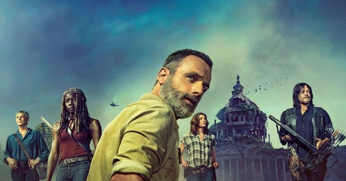 The Walking Dead Rick Grimes Michonne