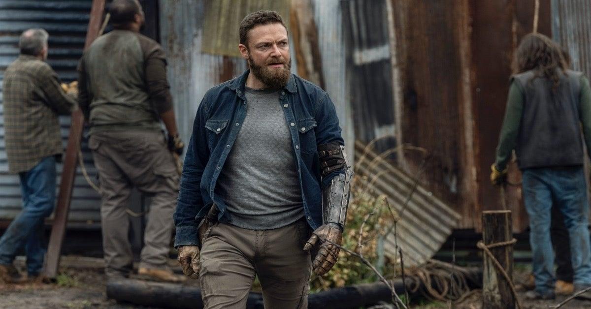 The Walking Dead Season 11 Aaron Ross Marquand