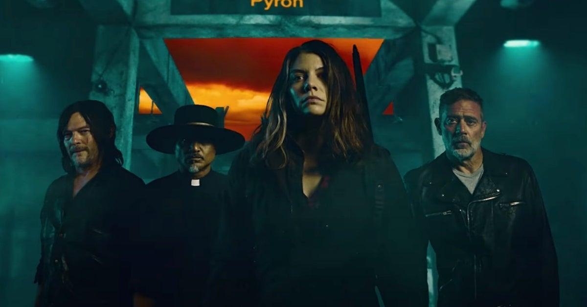 The Walking Dead Season 11 Maggie Negan Lauren Cohan Jeffrey Dean Morgan