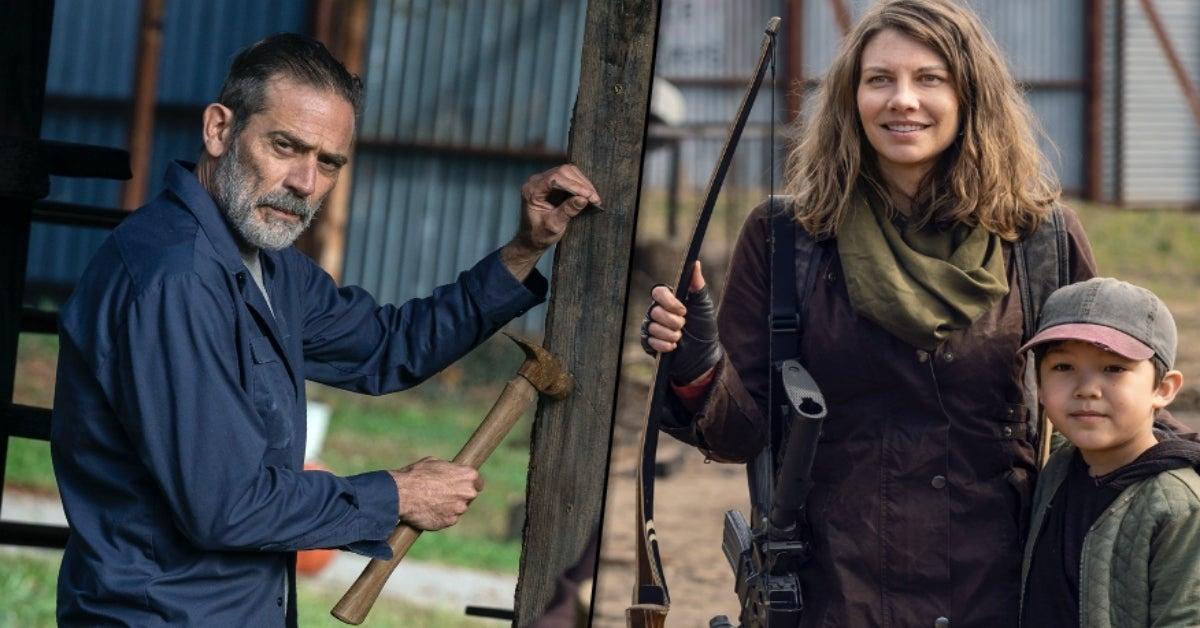 The Walking Dead Season 11 Negan Maggie Hershel Rhee