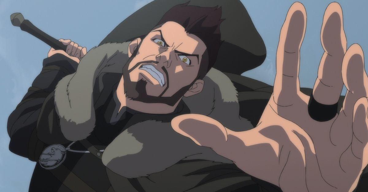 Le sorceleur cauchemar du loup Netflix Anime Vesemir