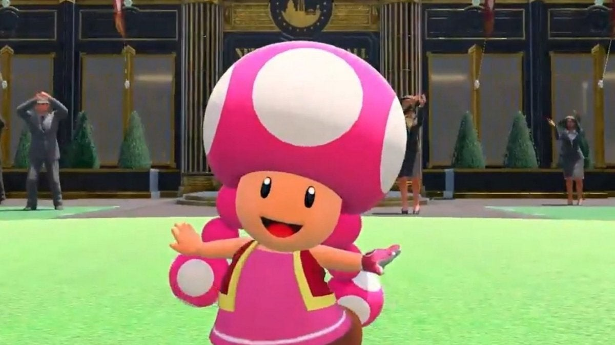 Toadette Mario Golf