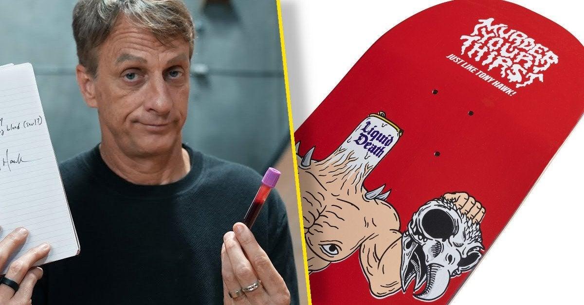 tony hawk blood skateboard sold out five hundred dollars