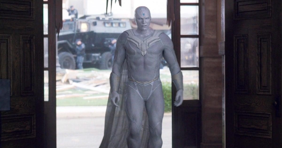 WandaVision White Vision Paul Bettany Marvel Studios