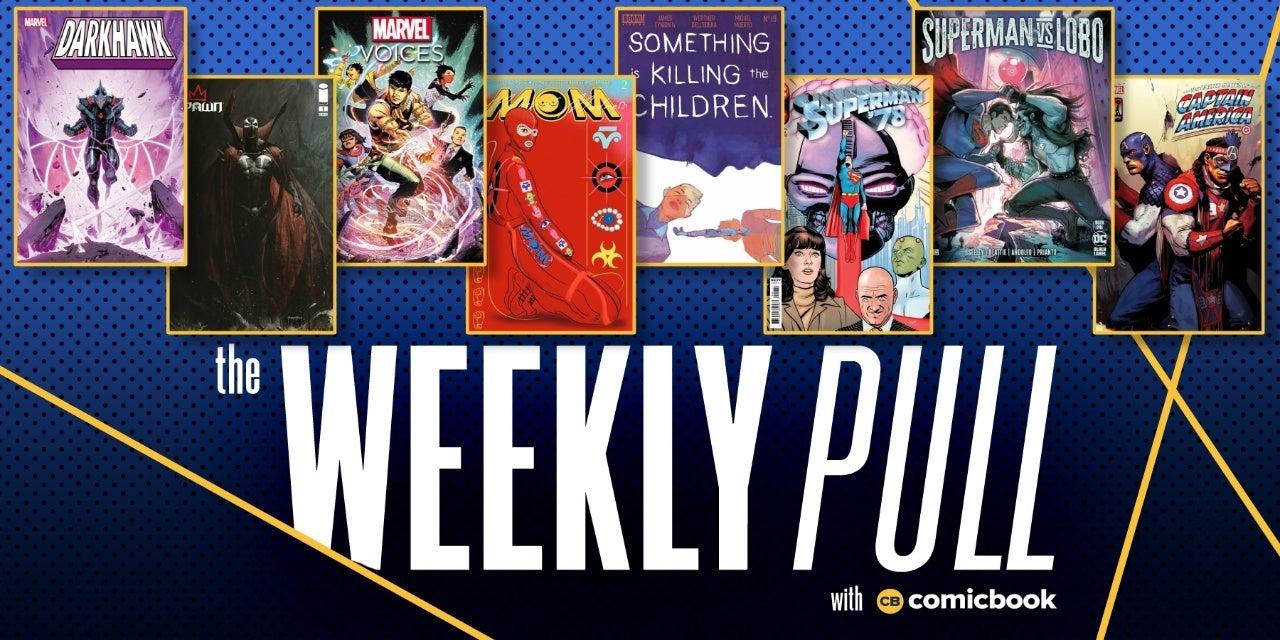 weekly pull week of august 25 2021