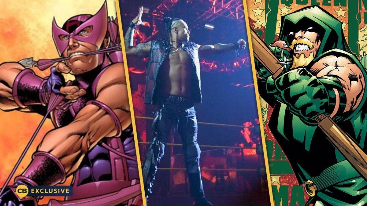 WWE-Damian-Priest-Green-Arrow-Purple-Guy