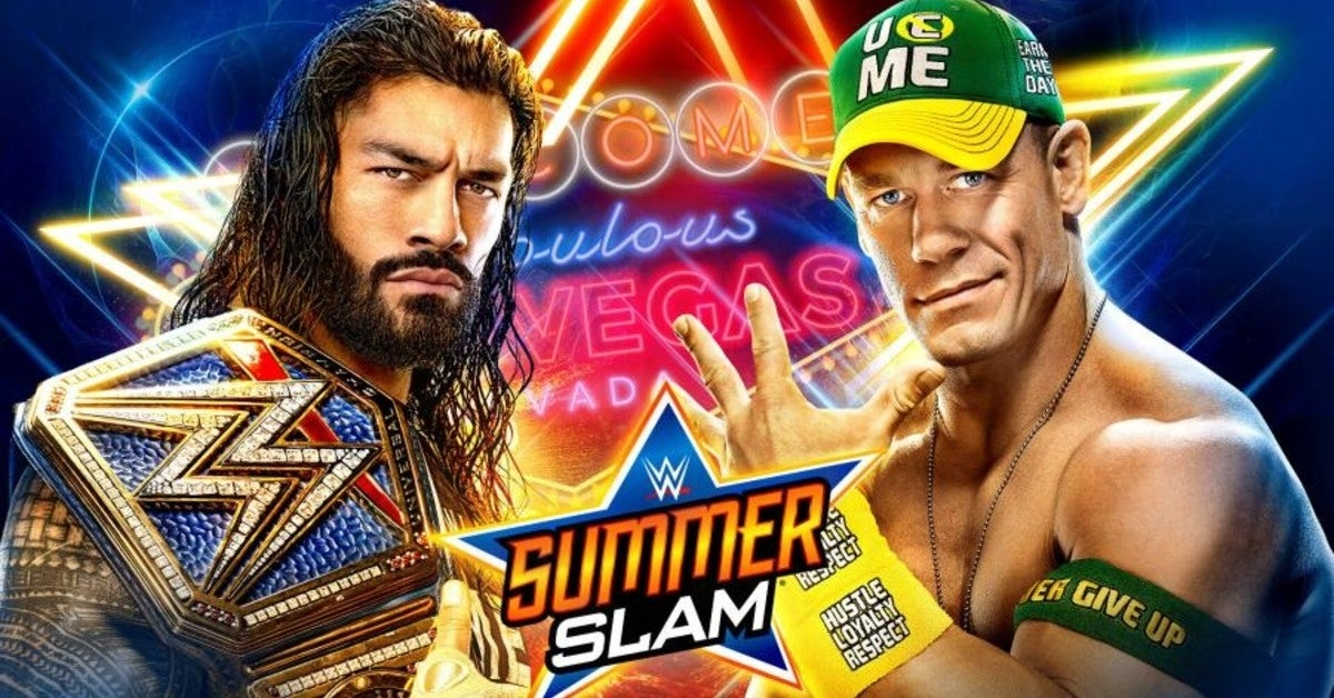 WWE-Roman-Reigns-John-Cena-SummerSlam