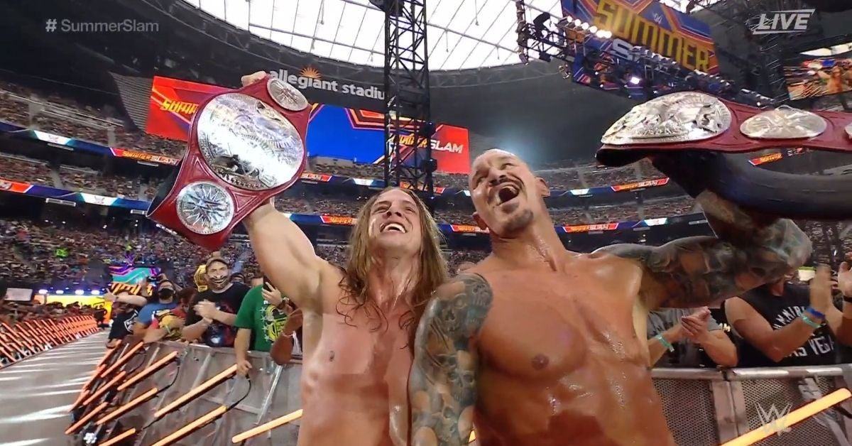 WWE SummerSlam RKBro Raw Tag Team Champions