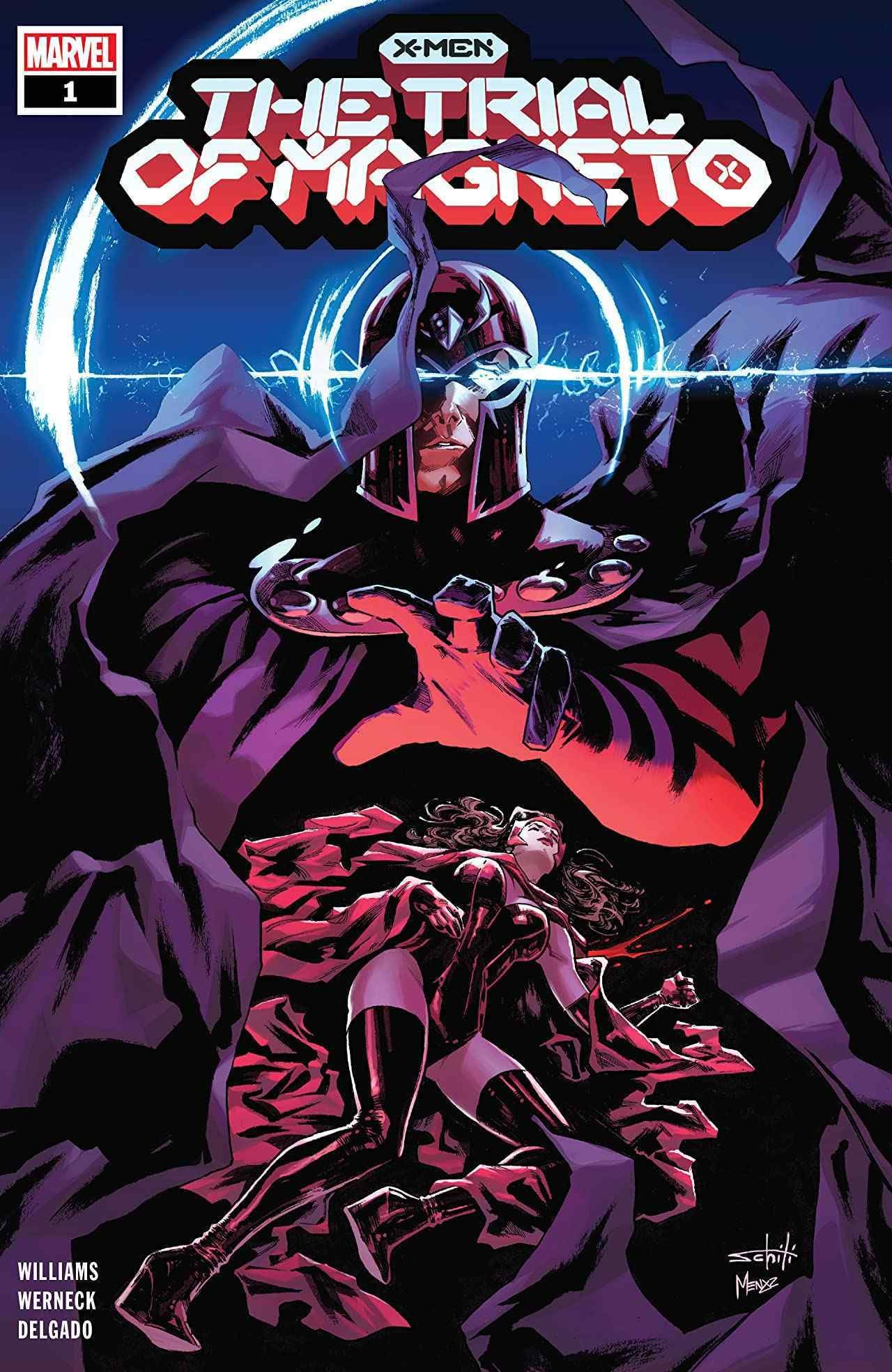 X-Men The Trial of Magneto #1