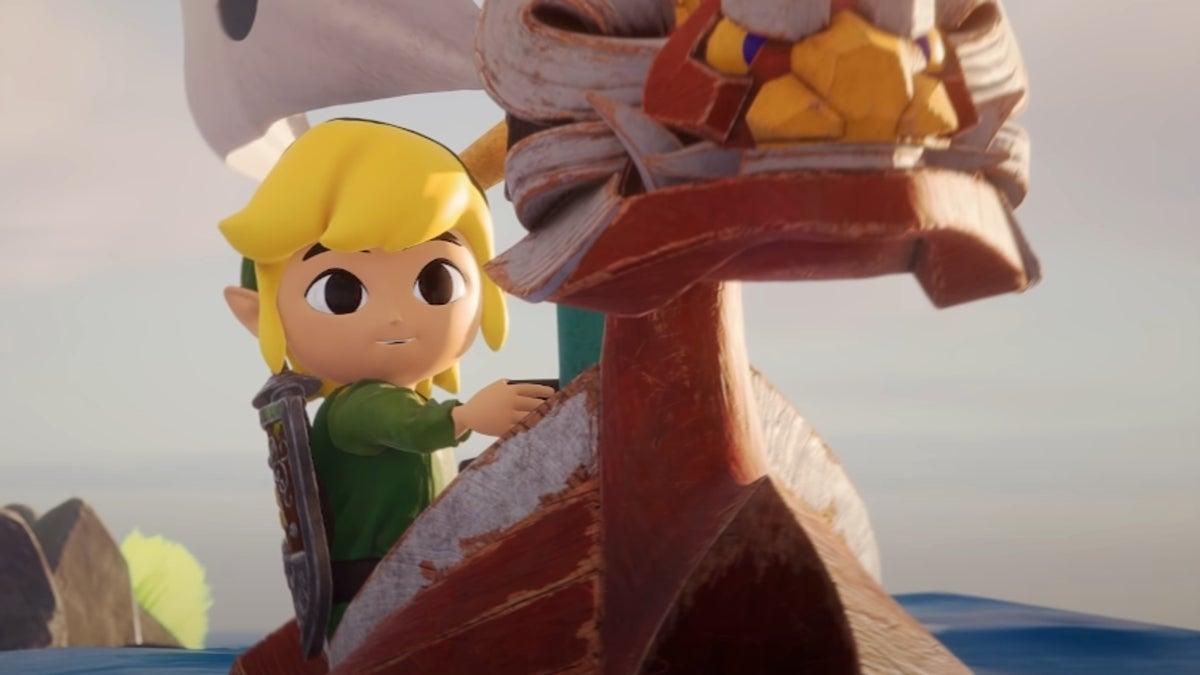 Zelda Wind Waker Fan Remake