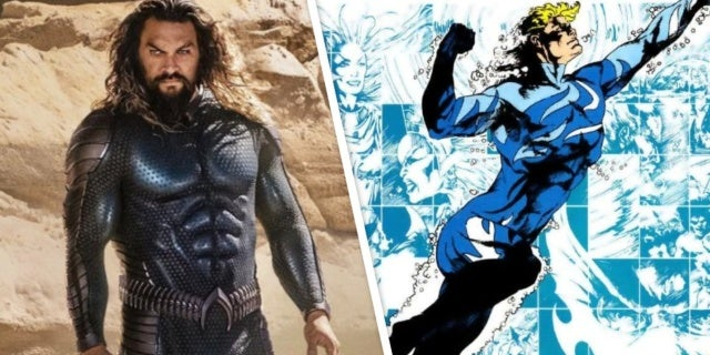 aquaman and the lost kingdom blue stealth suit costume