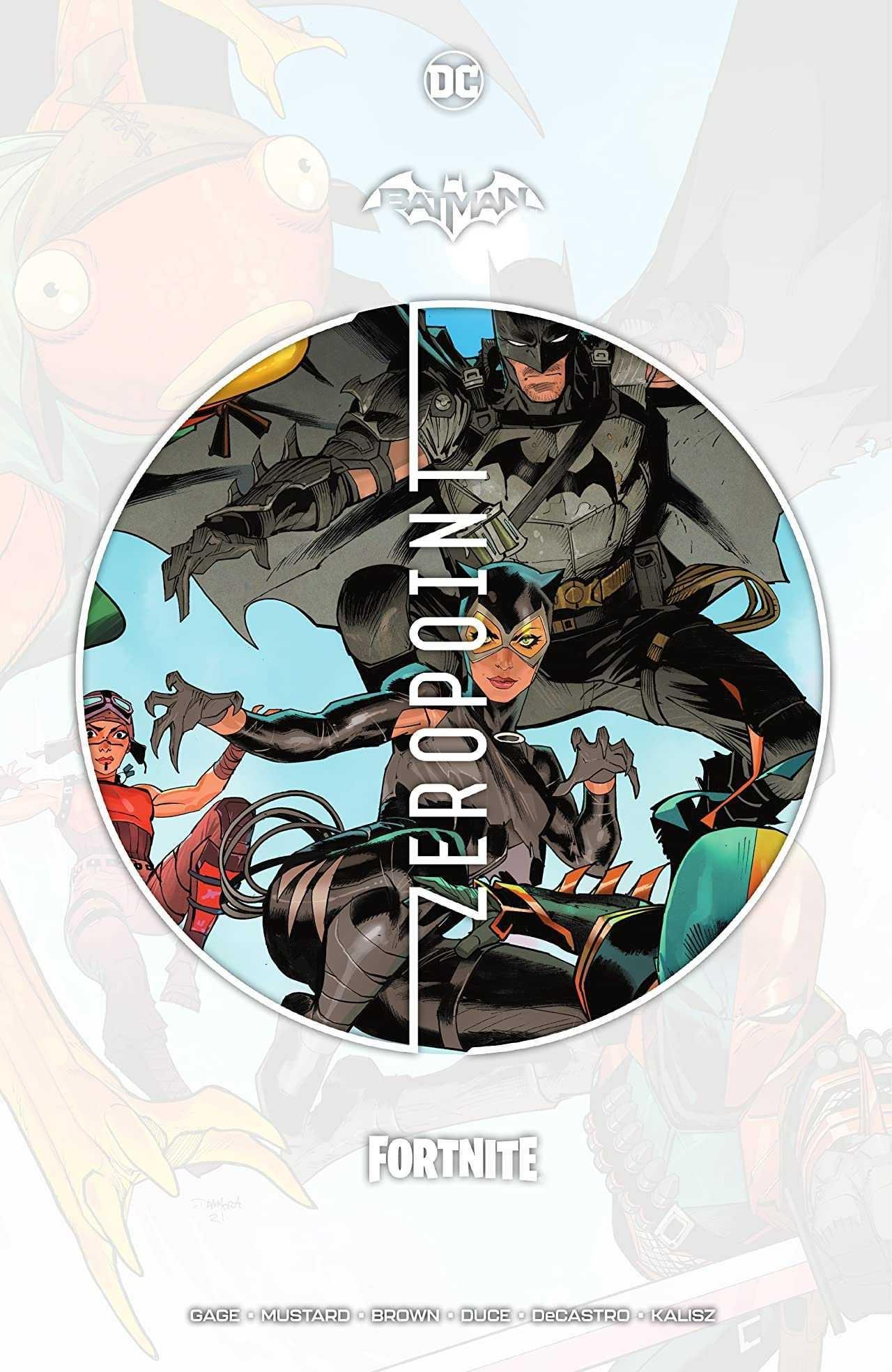 Batman Fortnite Zero Point