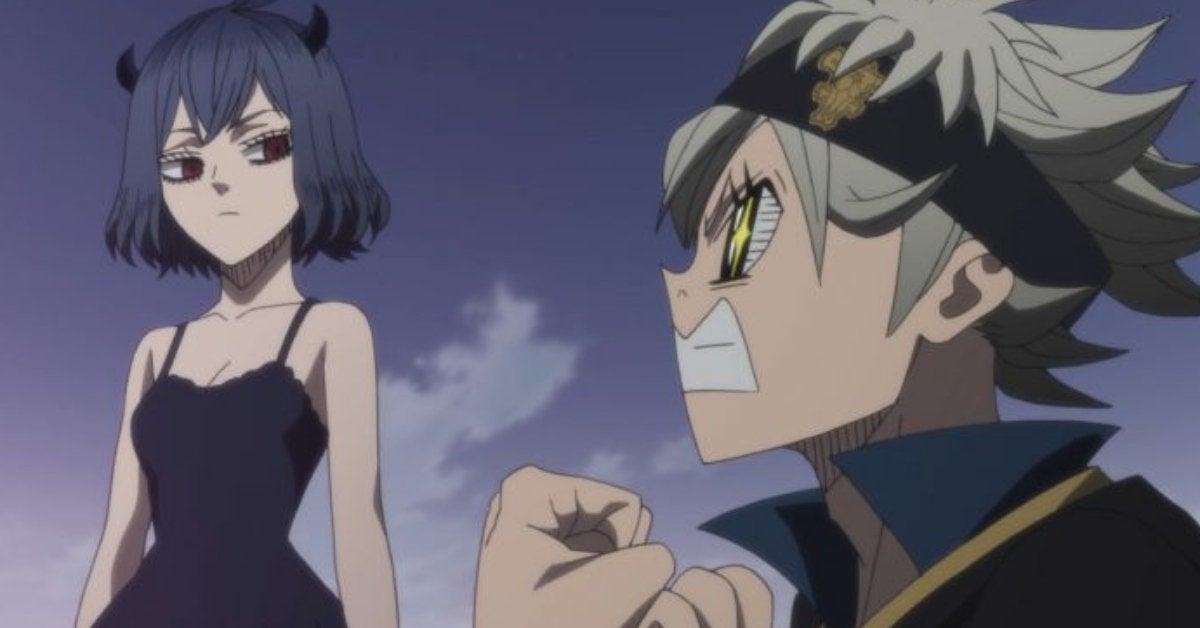 Black Clover Secre Asta Nero Anime