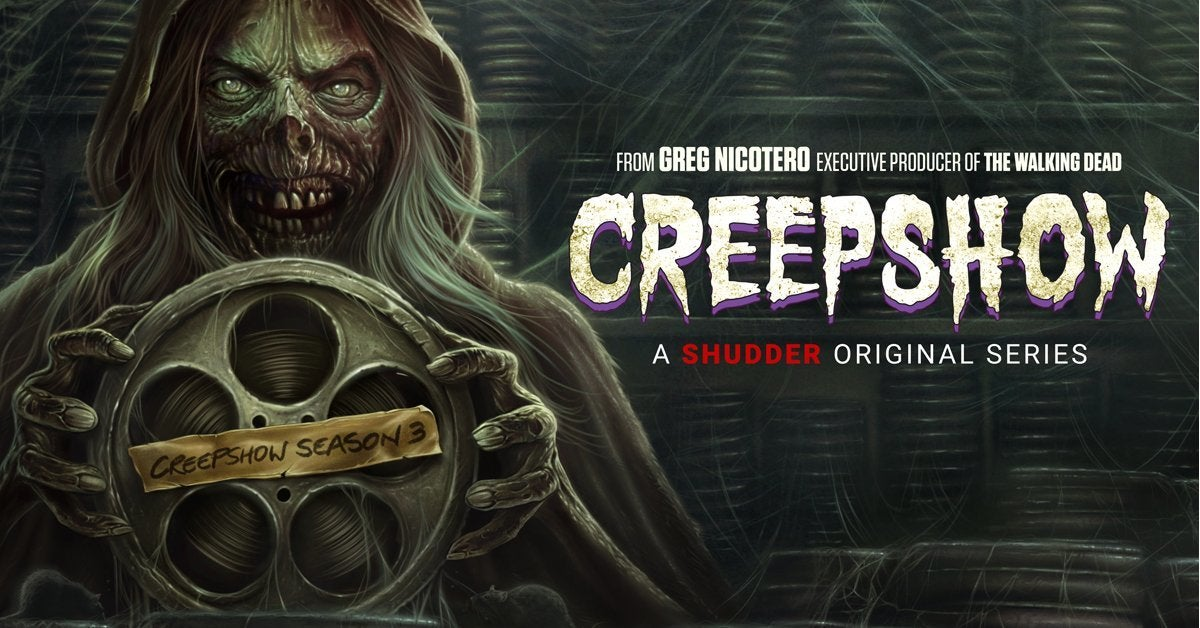 creepshow season 3 poster cover banner art shudder