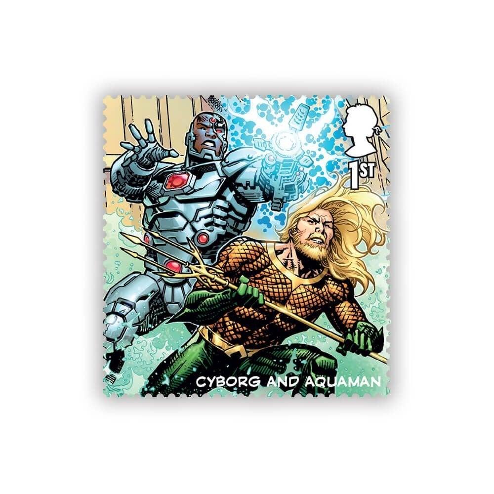 Cyborg and Aquaman