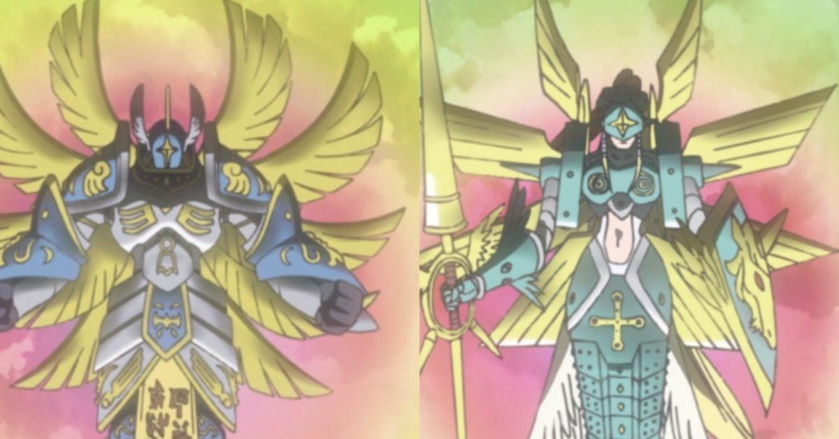 Digimon Adventure Seraphimon Ofanimon Reboot Anime