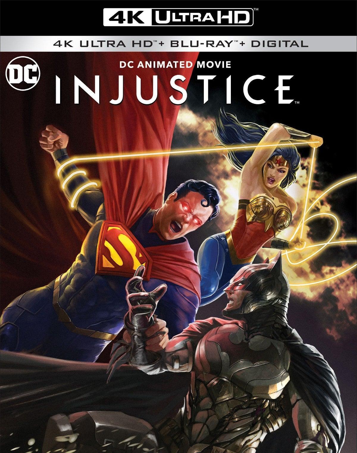 Injustice Movie Release Date 2021