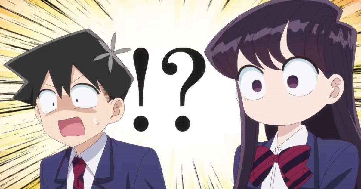 Komi Cant Communicate Anime Shouko Hitohito