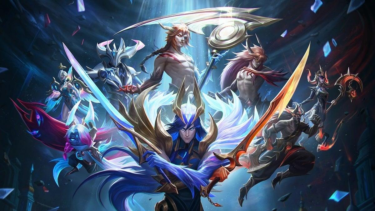 League of Legends Nightbringer Dawnbringer