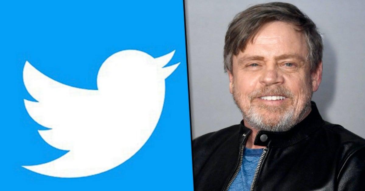 Mark Hamill Star Wars twitter