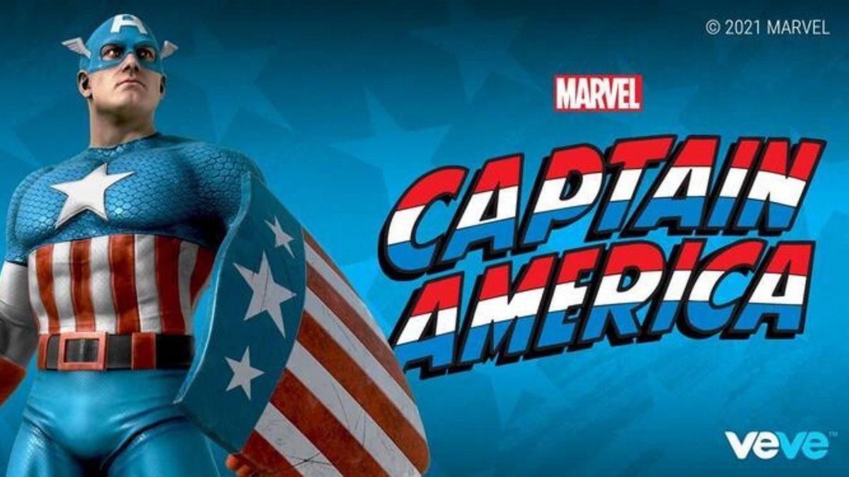 Marvel Captain America NFT