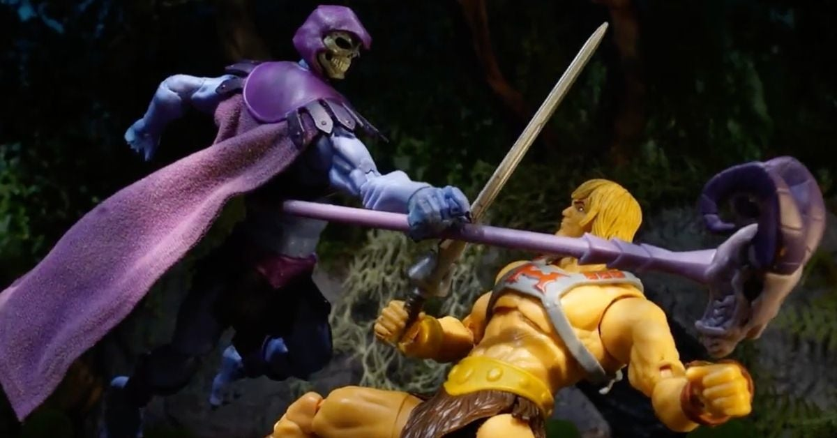 Masters of the Universe Netflix Stop Motion Animation Fight Video Watch