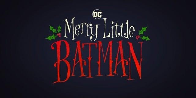 merry little batman movie logo