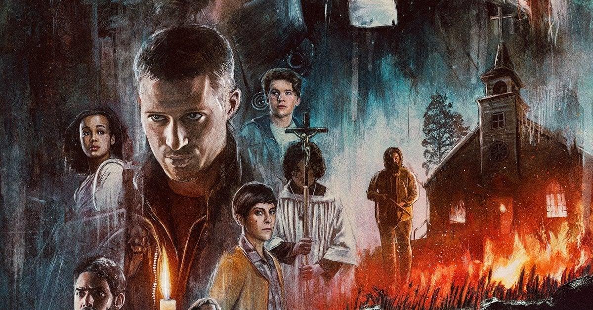 midnight mass tv series mike flanagan poster header