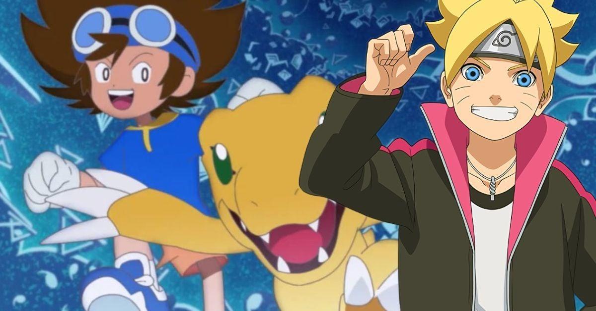 Naruto Boruto Digimon Adventure Taichi Yuko Sanpei