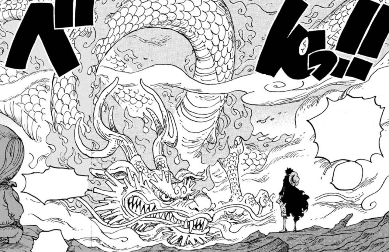 One Piece Momonosuke Dragon Form