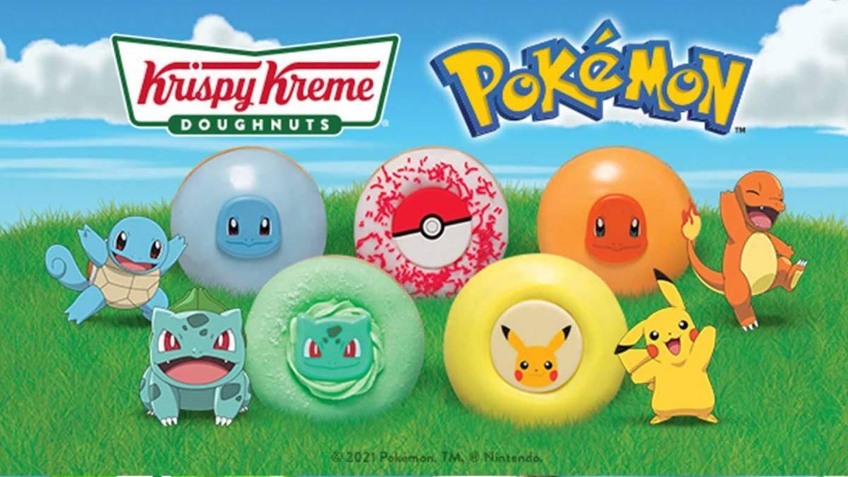 Pokemon Krispy Kreme