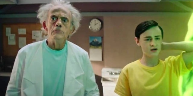 rick and morty live action christopher lloyd