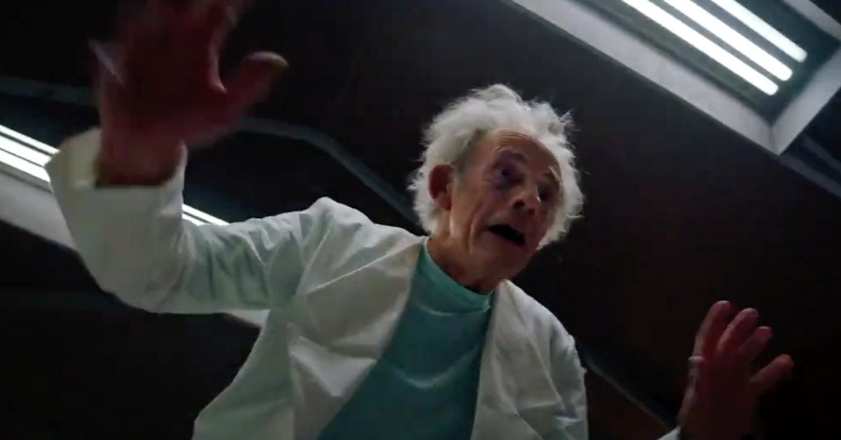Rick and Morty Live-Action Christopher Lloyd Adult Swim