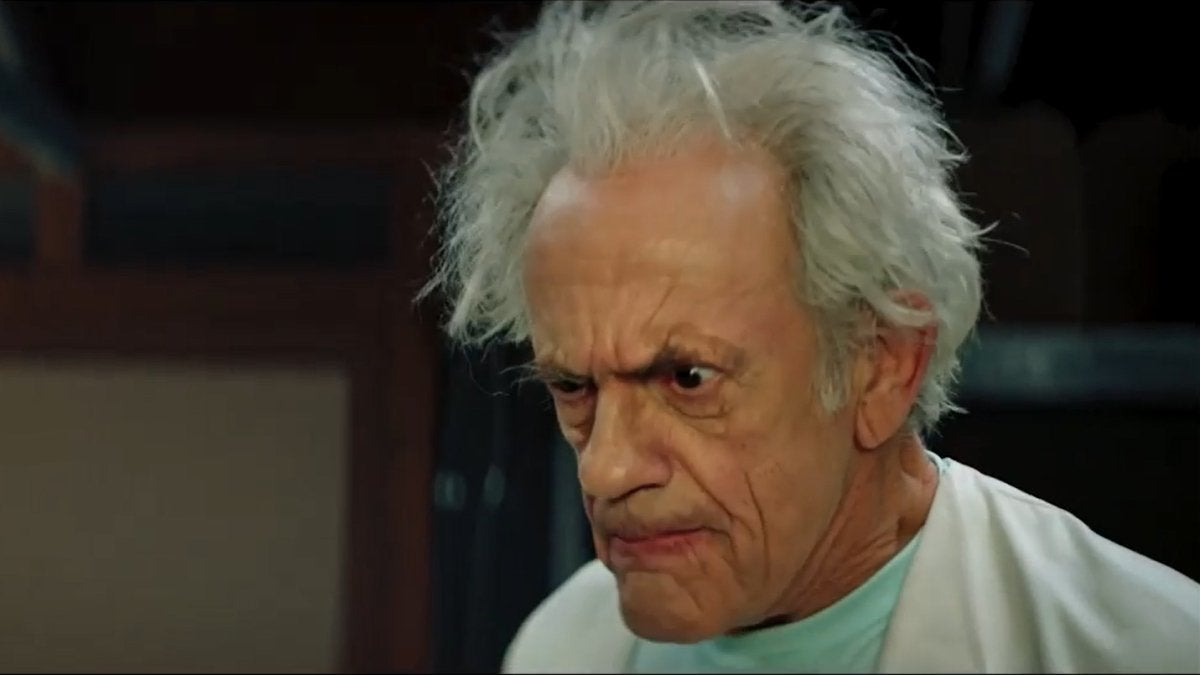 Rick and Morty Live-Action Christopher Lloyd Pickle Rick
