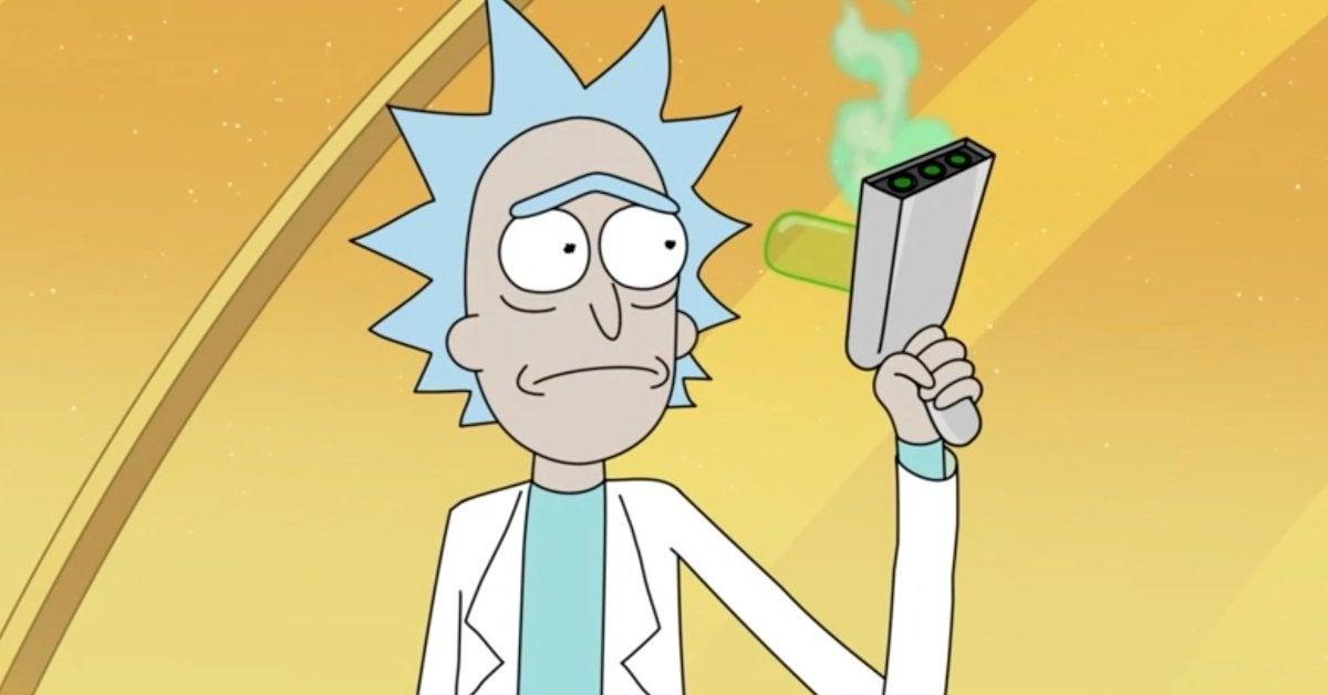 Rick and Morty Portal Gun Broken Cliffhanger Adult Swim