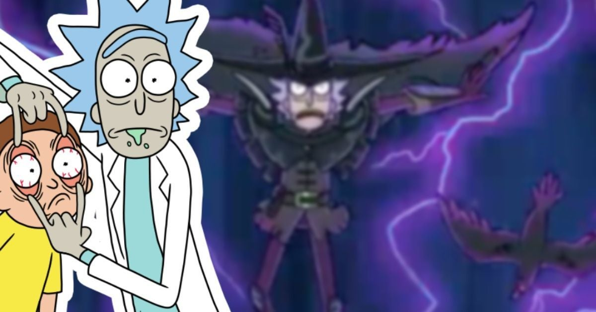 Rick and Morty Season 5 Finale Rick Two Crows Anime Adult Swim