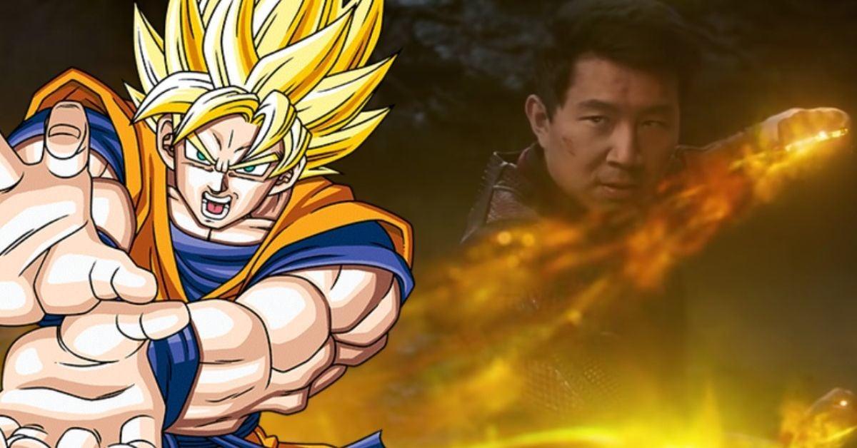 Shang-Chi Marvel Dragon Ball Easter Egg Goku Kamehameha