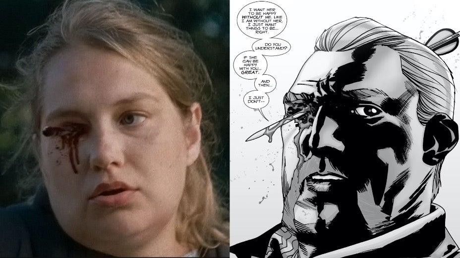 The Walking Dead Abraham death Denise comicbook.com