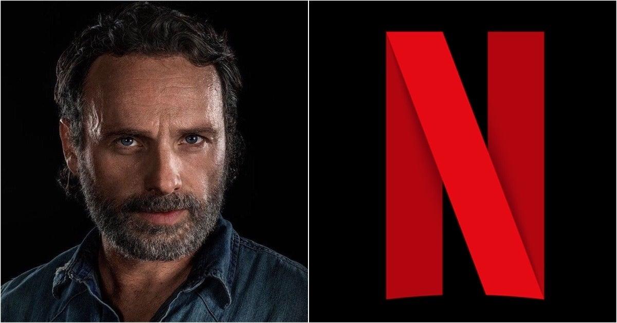 The Walking Dead Andrew Lincoln Netflix comicbookcom