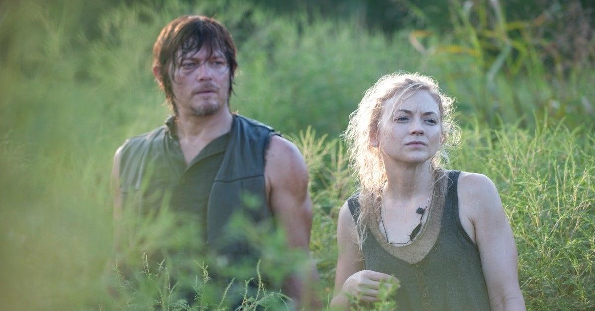 The Walking Dead Daryl Beth Norman Reedus Emily Kinney