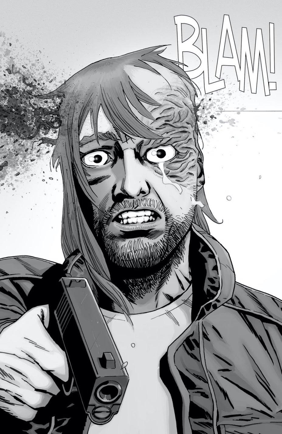 The Walking Dead Dwight death