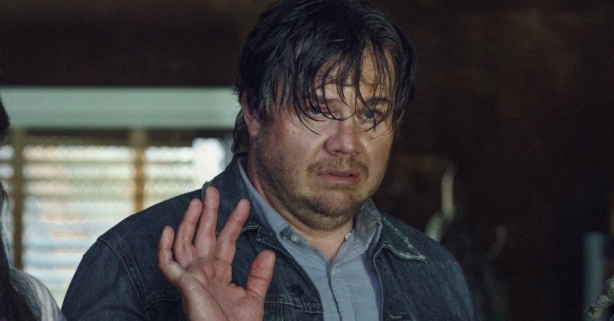 The Walking Dead Eugene Stephanie Josh McDermitt