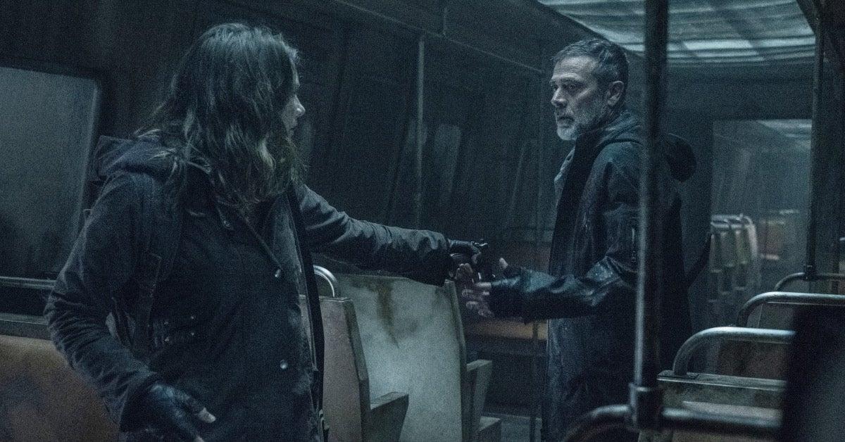 The Walking Dead Negan Maggie Season 11