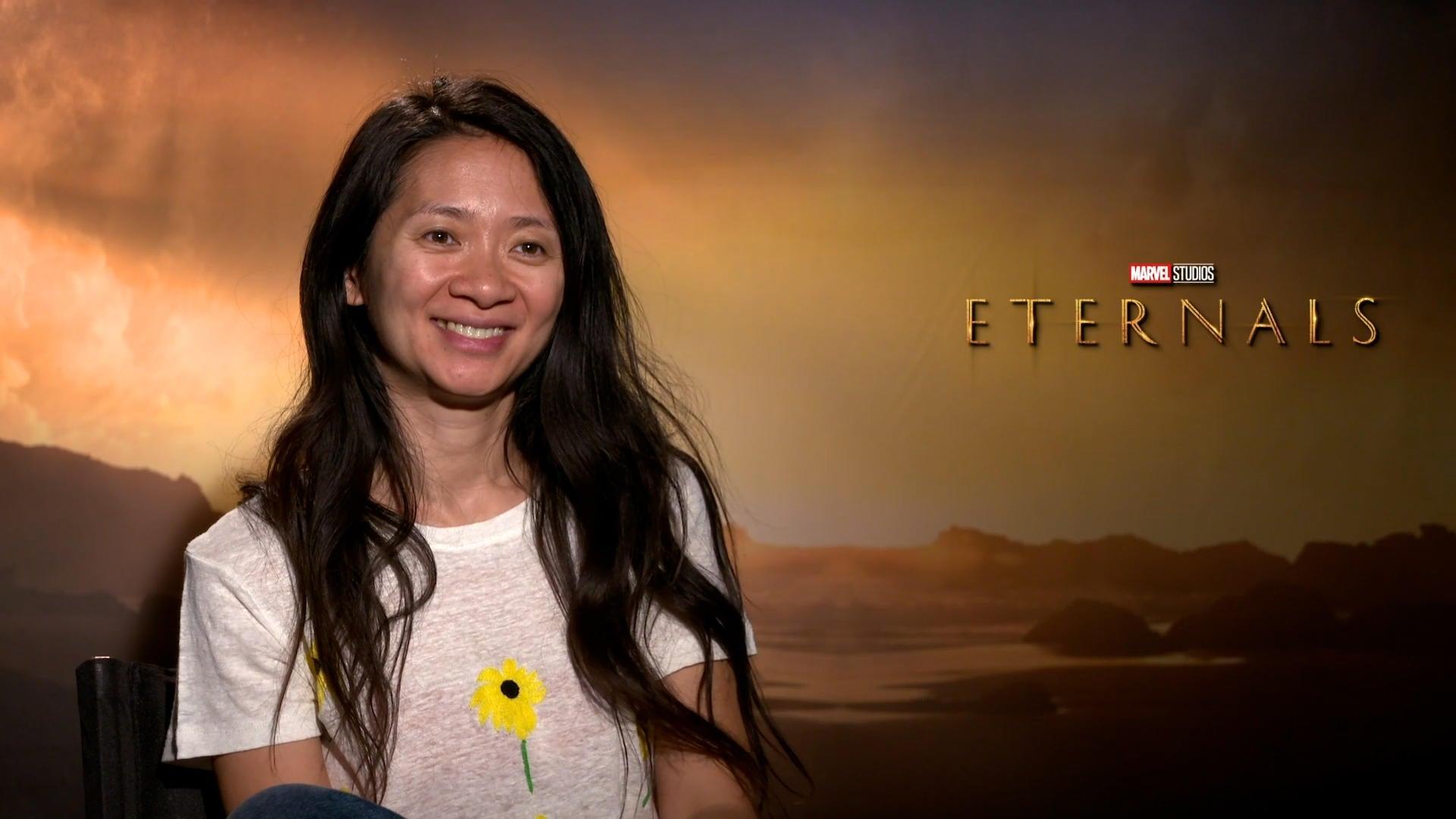 Chloé Zhao Talks Eternals - Comicbook.com Exclusive Interview