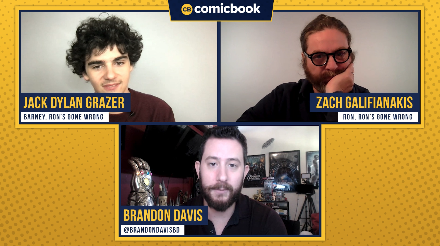 Jack Dylan Grazer and Zach Galifianakis Talk Ron's Gone Wrong