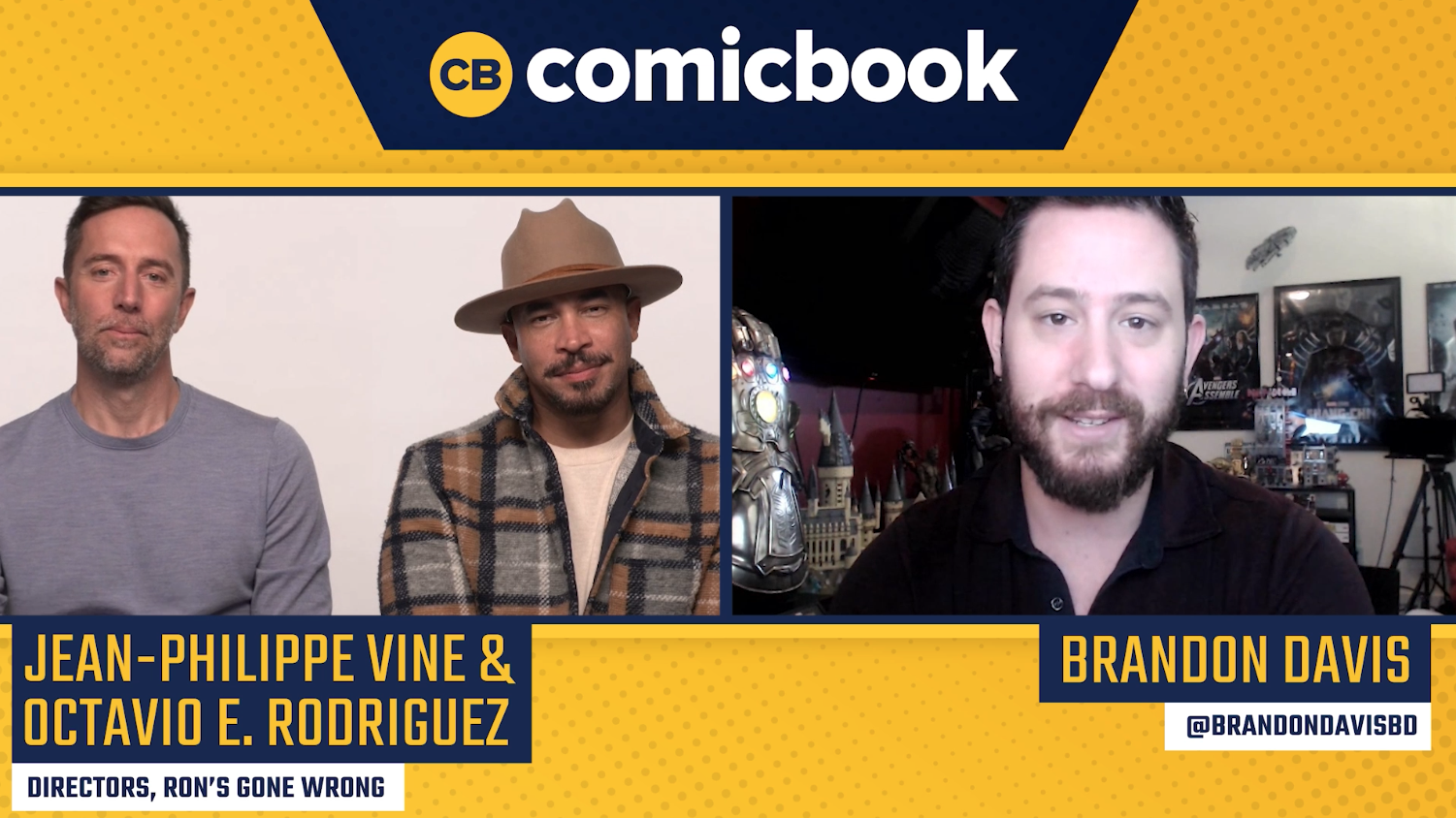 Jean-Philippe Vine and Octavio E. Rodriguez Talk Ron's Gone Wrong
